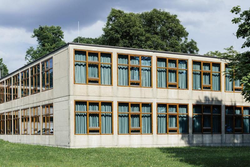 Hochschule für Gestaltung Ulm / School of Design Ulm (1950–55), Architekt / architect: Max Bill