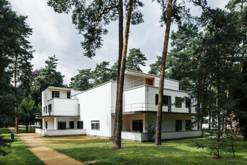 Meisterhäuser Dessau / The Masters' Houses Dessau (1925–26), Architekt / architect: Walter Gropius
