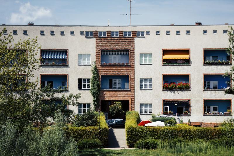 Hufeisensiedlung (1925–30), Architekten / architects: Bruno Taut, Martin Wagner
