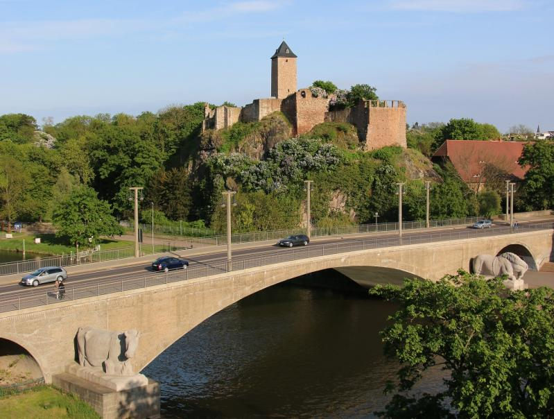 Giebichenstein Bridge, Halle