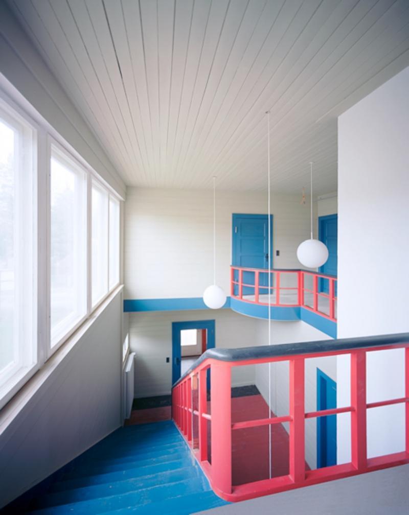 Konrad-Wachsmann-Haus, Niesky: Diele