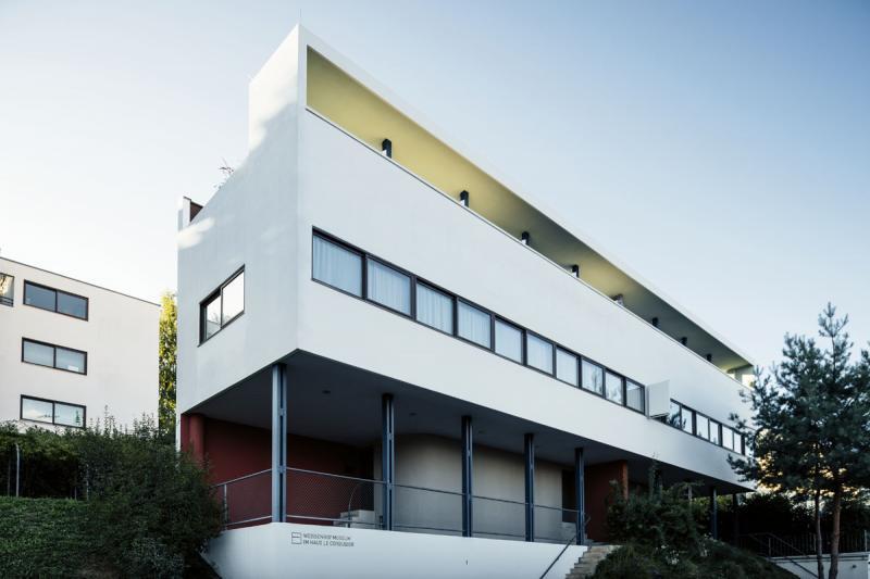 Weissenmuseum im Haus Le Corbusier (1927), Architekten / architects: Le Corbusier, Pierre Jeanneret