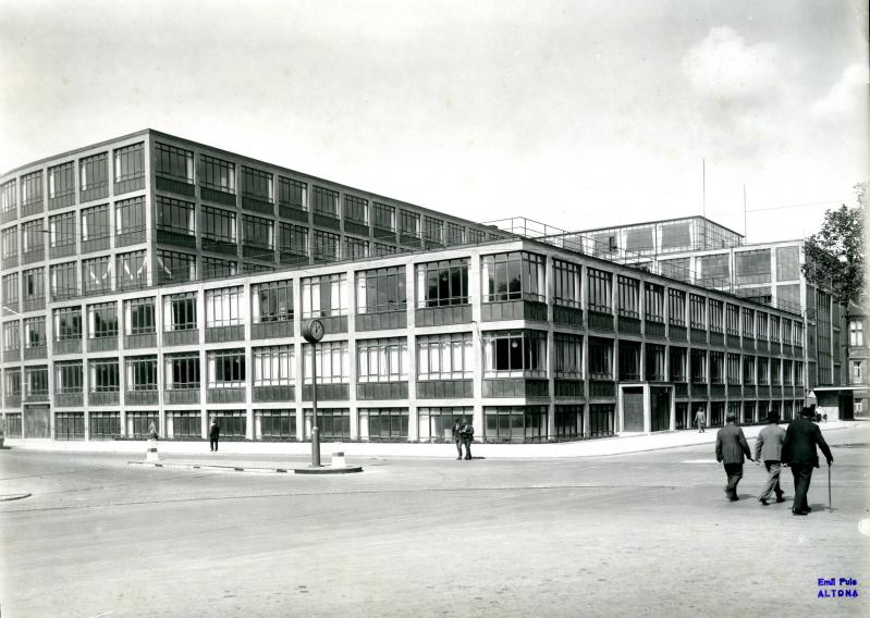 House of Youth, Hamburg (today: occupational school for energy management): historical photo