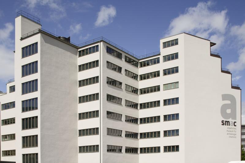 Ehemaliges Kaufhaus Schocken | Rückwärtige Ansicht