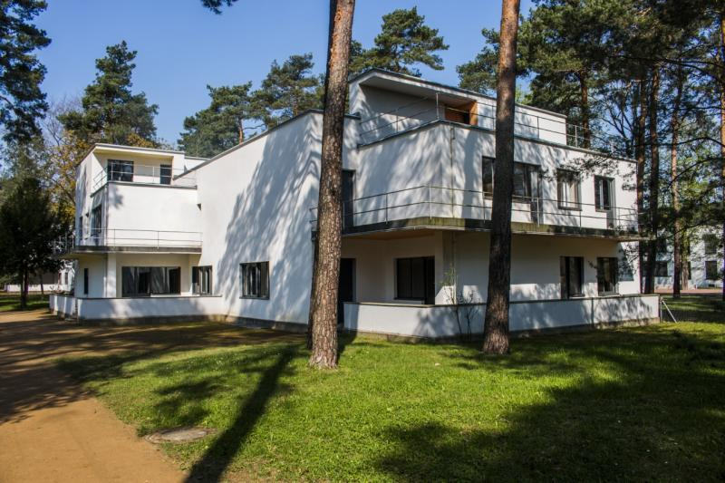 Meisterhaus Muche/Schlemmer (1925–26), Architekt: Walter Gropius, 2018