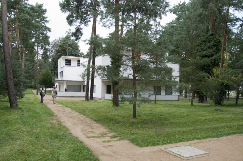Meisterhaus Kandinsky/Klee (1925–26), Architekt: Walter Gropius, 2018