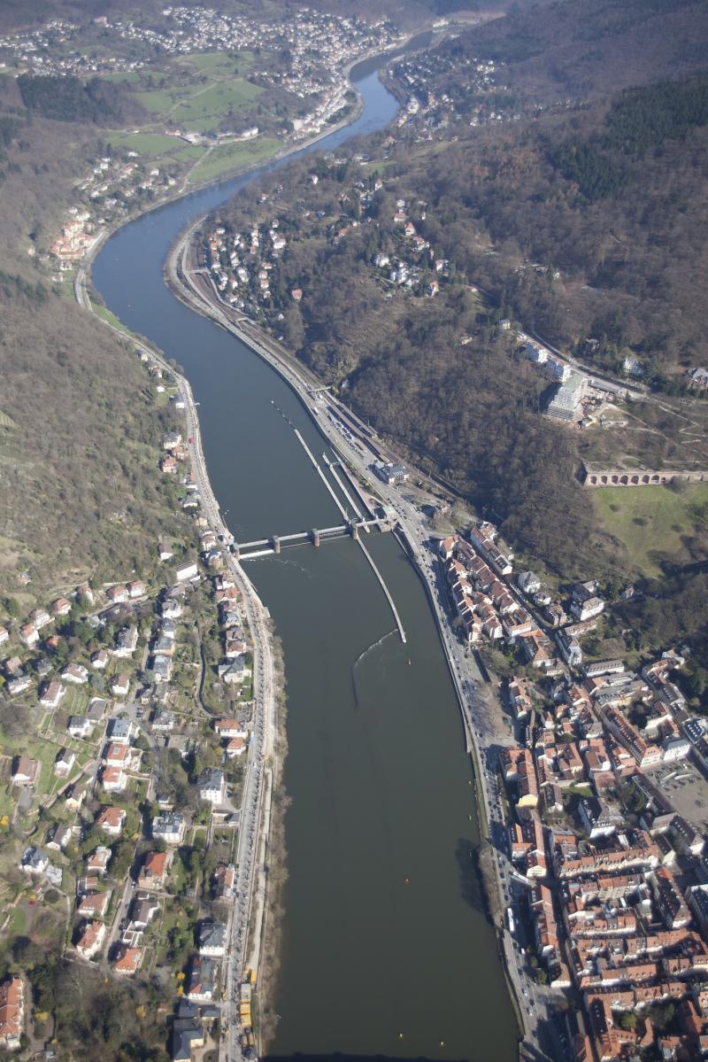 Neckarstaustufe Heidelberg