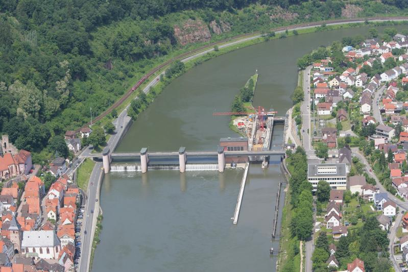 Neckarstaustufe Hirschhorn