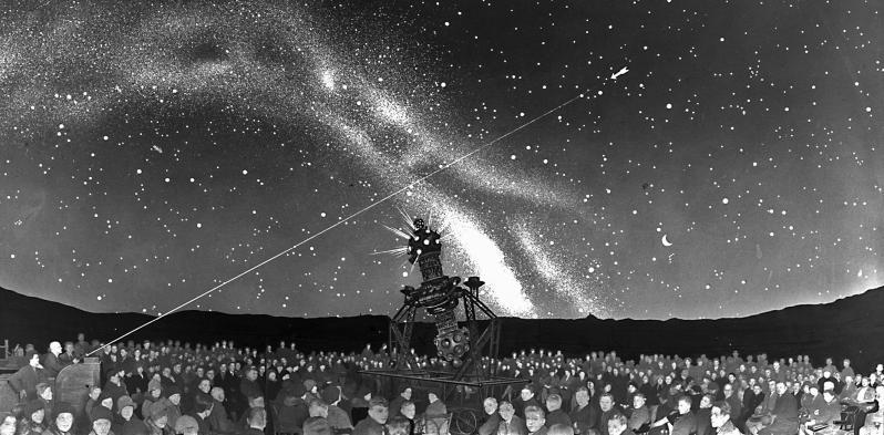 Zeiss-Planetarium Jena um 1930.