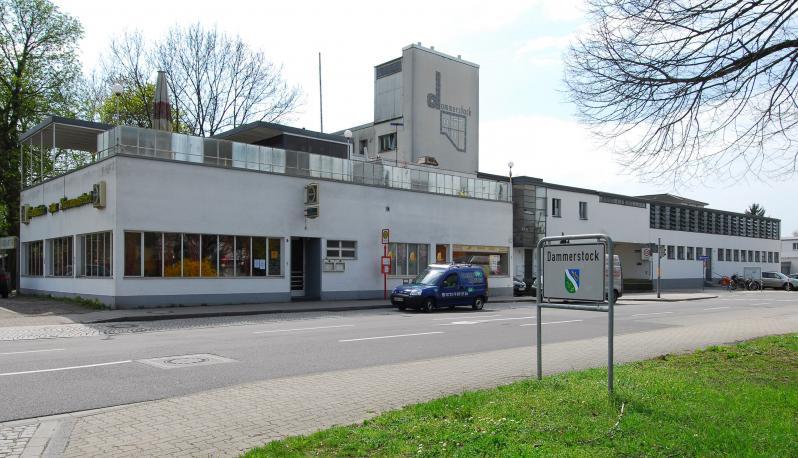 Dammerstocksiedlung, Karlsruhe: Restaurant Dammerstock