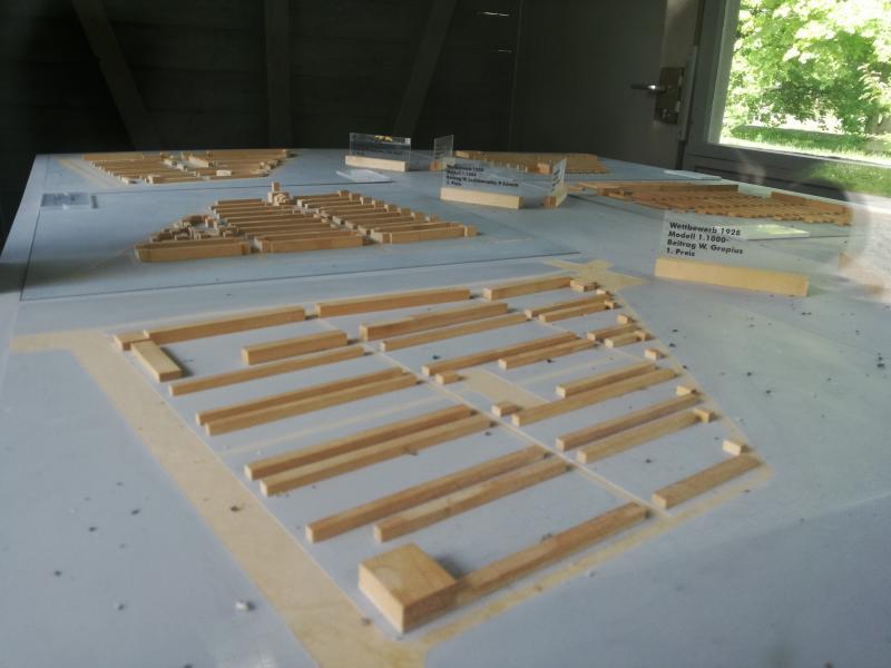 Dammerstocksiedlung, Karslruhe: Gropius-Modell