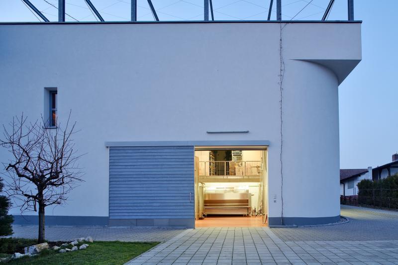 Erweiterungsbau Kelterhaus, Architekt: Prof. Heribert Hamann, 2004, Südansicht