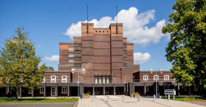Stadthalle, Magdeburg (Sachsen-Anhalt), Architekt: Johannes Göderitz, 1927.