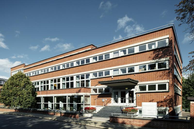 Mensa am / Canteen at Philosophenweg (1929/30), Architekten / architects: Ernst Neufert, Otto Bartning