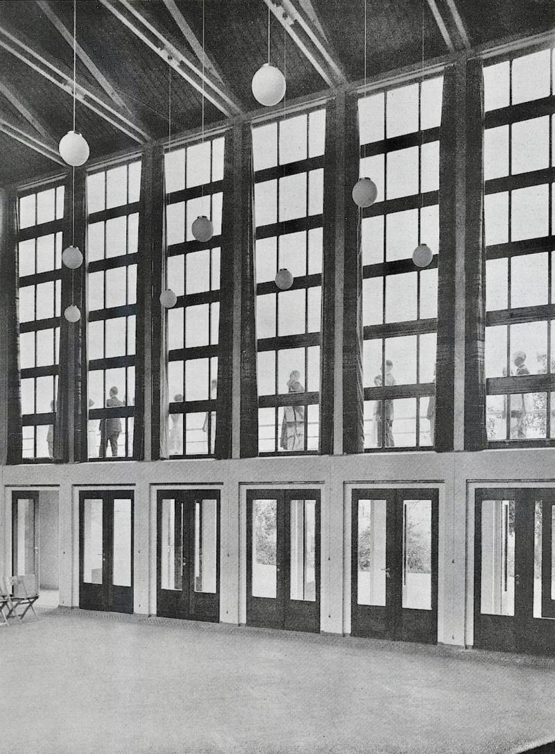Musikheim Frankfurt (Oder): Hallensüdseite, 1929