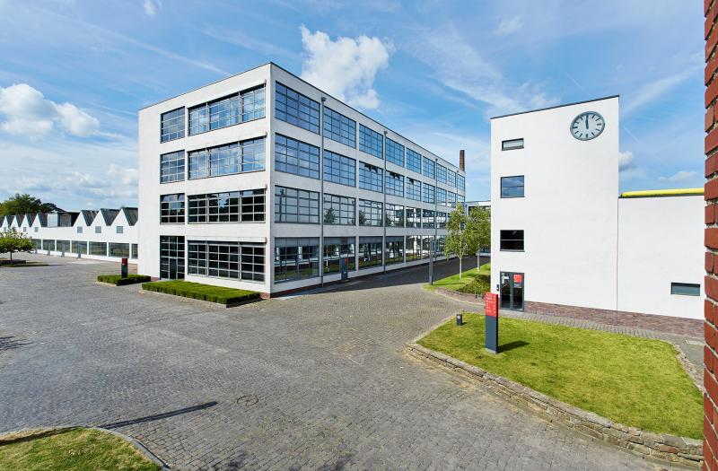 HE-Gebäude und Färberei der VerSeidAG, Krefeld