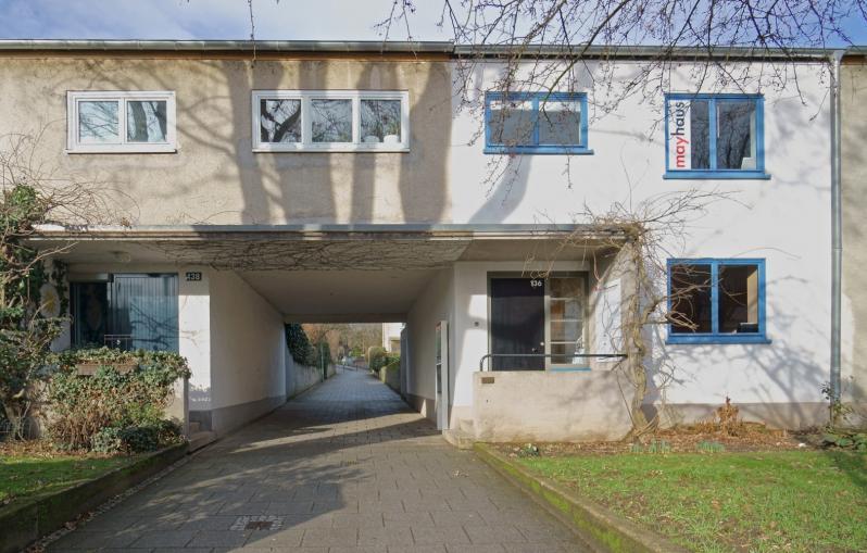 Ernst-May-Haus, Im Burgfeld, Siedlung Römerstadt, Foto: 2013