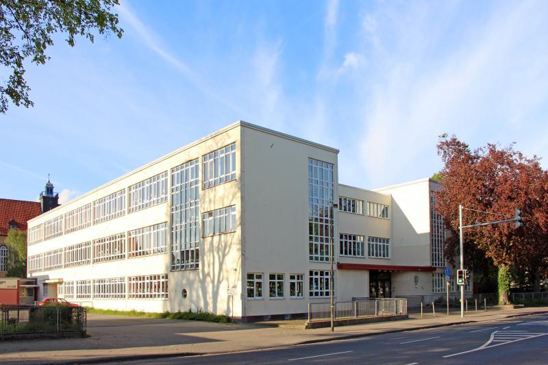 Altstädter Schule Celle, ehem. Glasschule des Architekten Otto Haesler