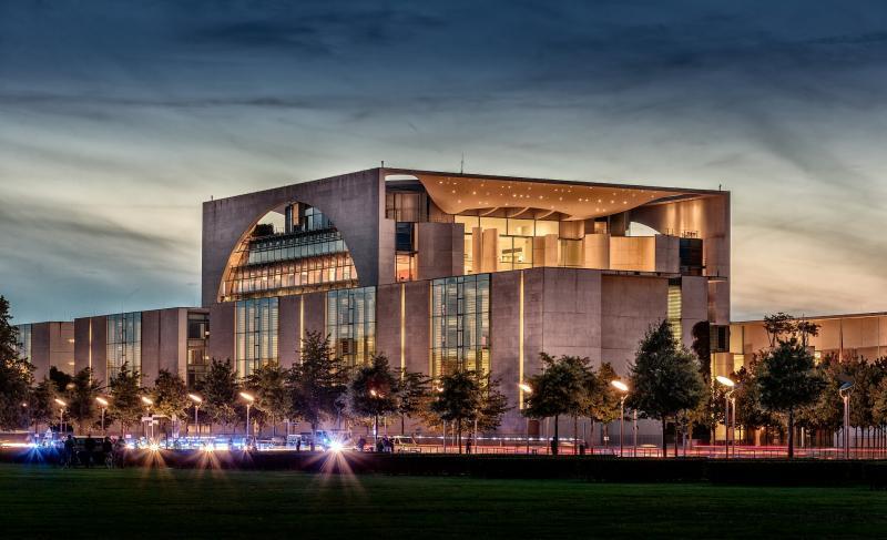 Federal Chancellery, Berlin