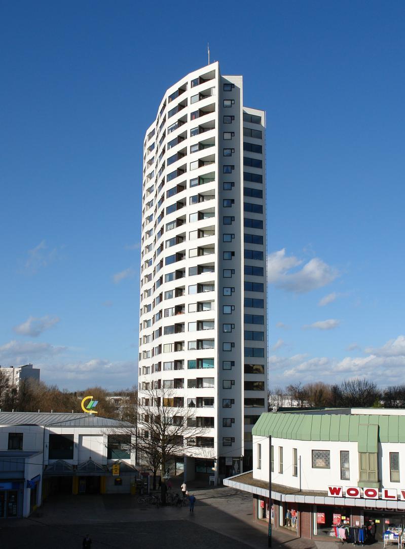 Siedlung Neue Vahr, Bremen: Aalto-Hochhaus