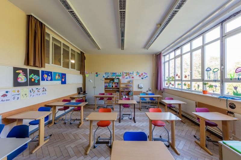 Altstädter school, Celle: class room