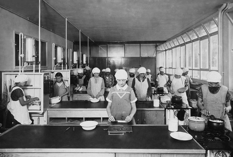 Altstädter school, Celle: kitchen