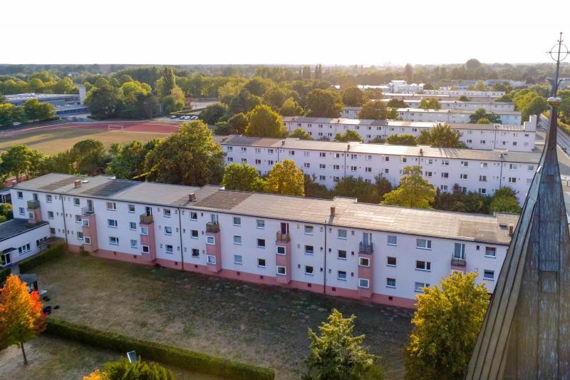 Siedlung Georgsgarten, Celle: aerial photograph
