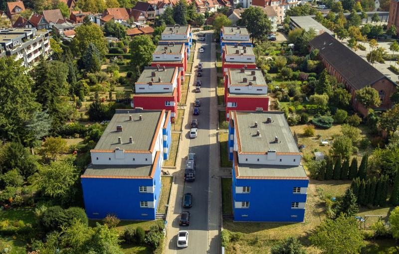 Italienischer Garten Housing Estate, Celle