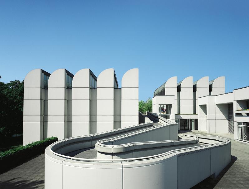 Das Bauhaus-Archiv/Museum für Gestaltung in Berlin, Architekten: Walter Gropius, Alex Cvijanovic und Hans Bandel.
