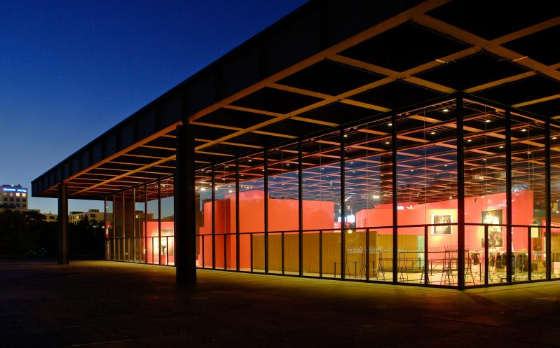 Kulturforum: Neue Nationalgalerie, Berlin