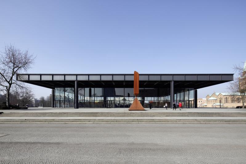 Neue Nationalgalerie. Kulturforum. Berlin-Tiergarten, Potsdamer Straße 50.
