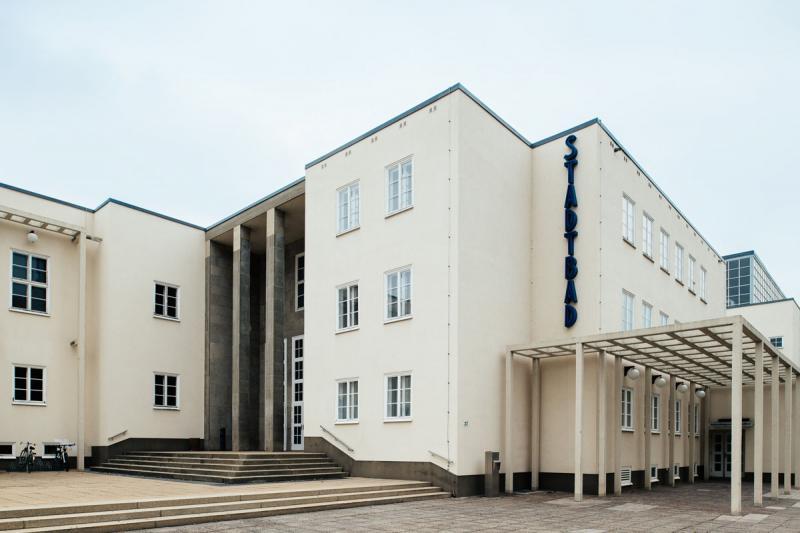 Stadtbad, Chemnitz (Sachsen), Architekt: Fred Otto, 1927-35.