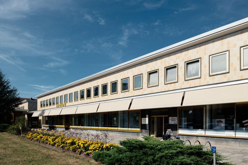 Wohnkomplex I - III (1940er bis 1950er Jahre), Architekt: Architektenkollektiv unter Kurt W . Leucht