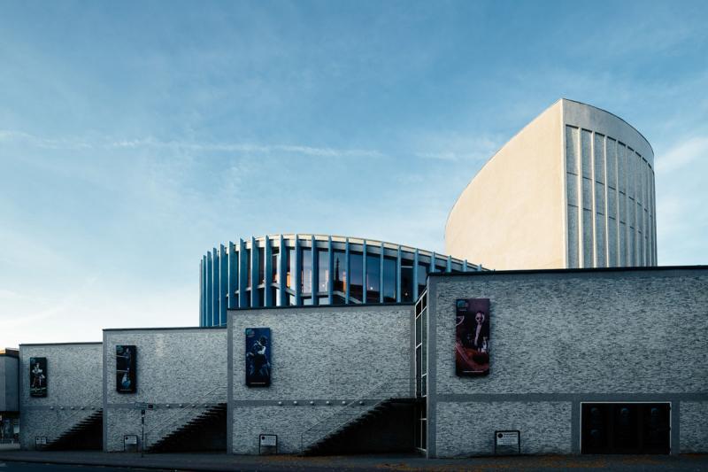 Stadttheater (1954-1956), Architekten: Harald Deilmann, Max von Hausen, Ortwin Rave, Werner Ruhnau