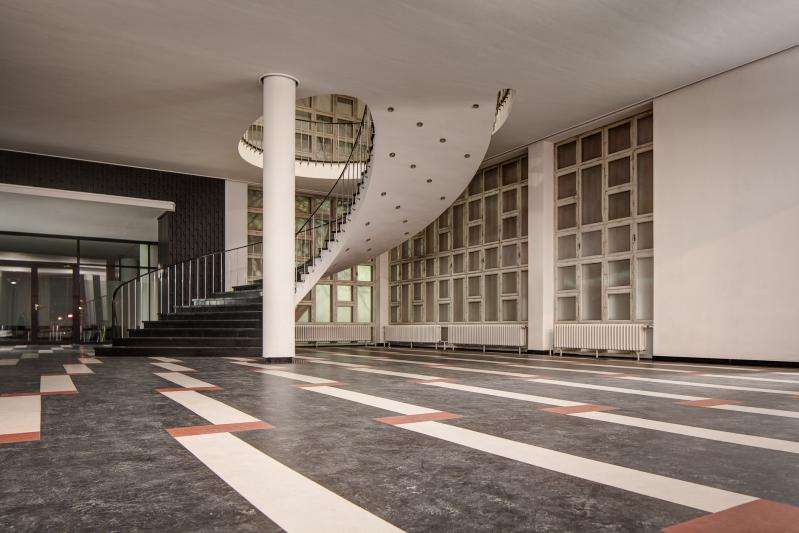 Conti-Hochhaus, Hannover: Eingangshalle