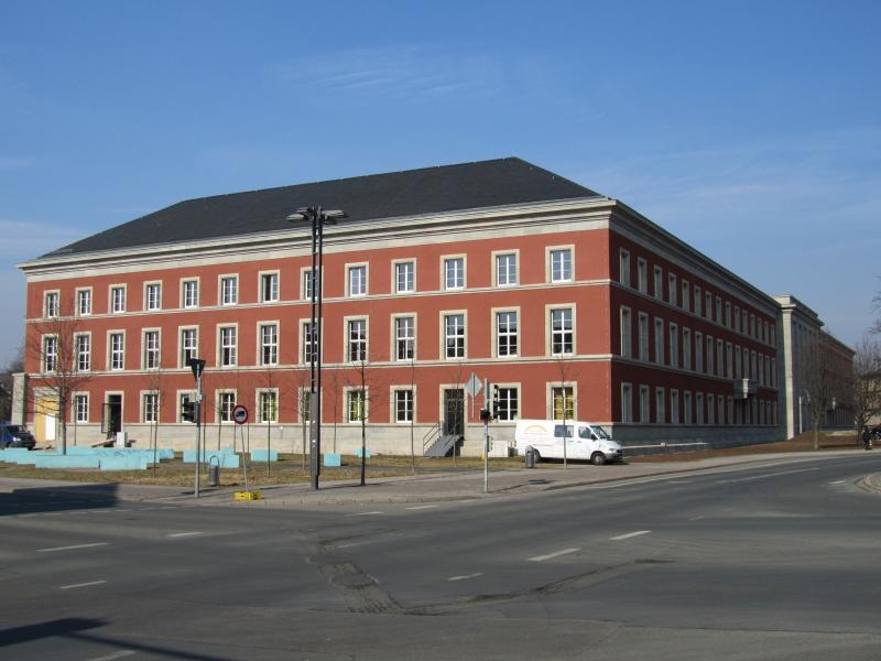 Gauforum Weimar: west side