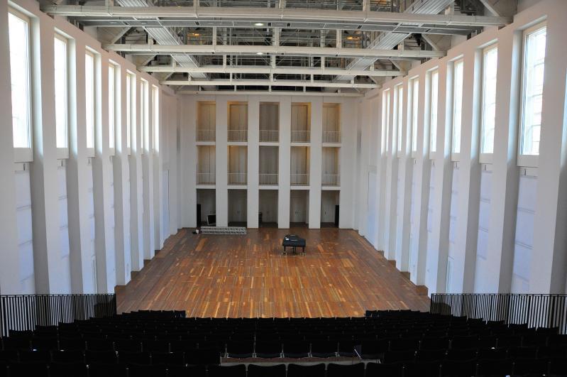 Hellerau Festival Theatre, Great Hall, Dresden-Hellerau (Saxony), Architect: Heinrich Tessenow, 1911–12.