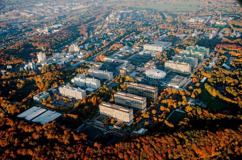Bochum, Ruhr-Universität Bochum (RUB), Luftaufnahme
