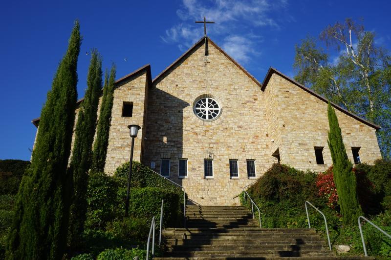 Mainz, Evangelische Luthergemeinde, Außenansicht der Kirche