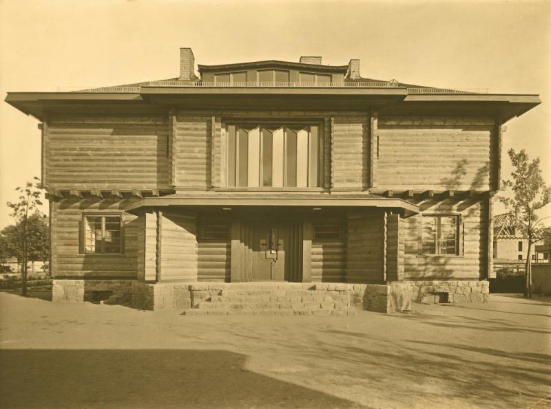 Haus Sommerfeld, Berlin. Architektur: Walter Gropius und Adolf Meyer, 1920-22, Foto: Carl Rogge.