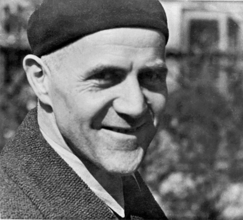 Portrait Hannes Meyer, Foto: unbekannt, 1938.
