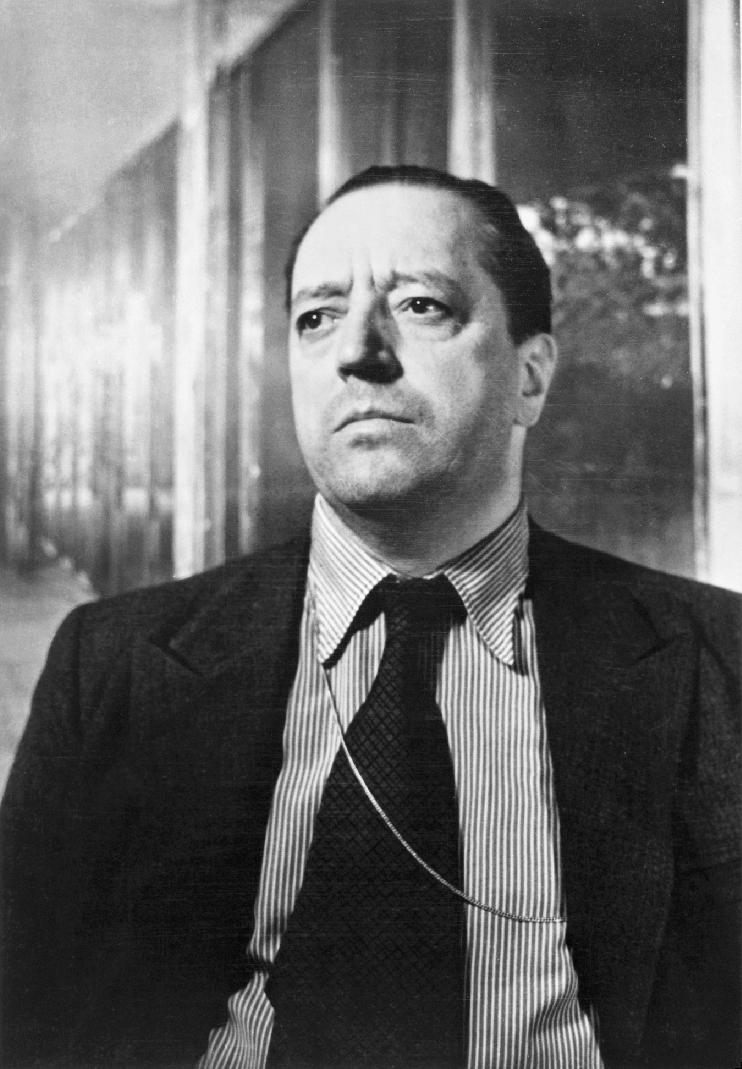 Portrait of Ludwig Mies van der Rohe, Photo: Werner Rohde, 1934, later print.