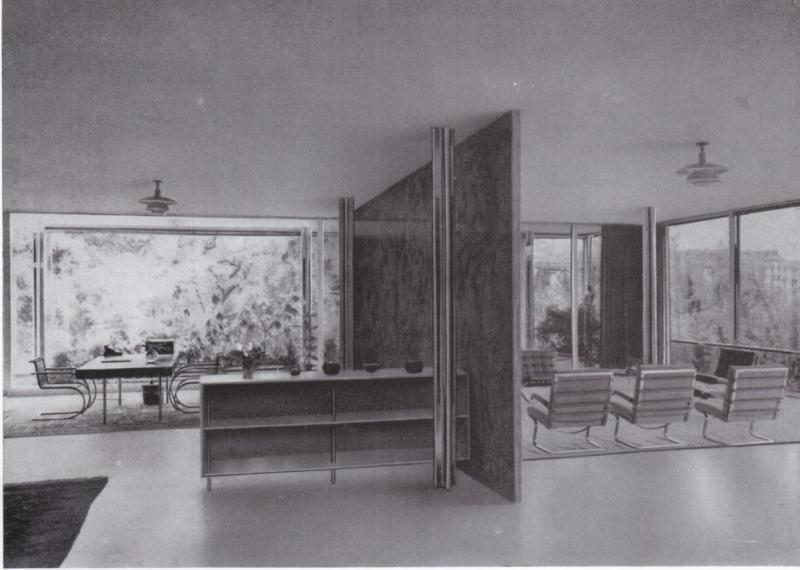 Tugendhat House, Brno, Architecture: Ludwig Mies van der Rohe and Lilly Reich, 1929.