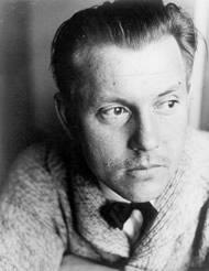 Portrait of Alfred Arndt, photo: Gertrud Arndt, 1929.
