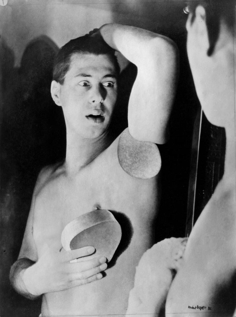 Selbstporträt, Foto: Herbert Bayer, 1932.