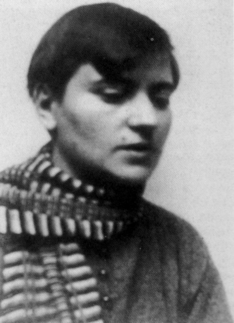 Portrait of Marianne Brandt, Photo: Unknown, around 1926.