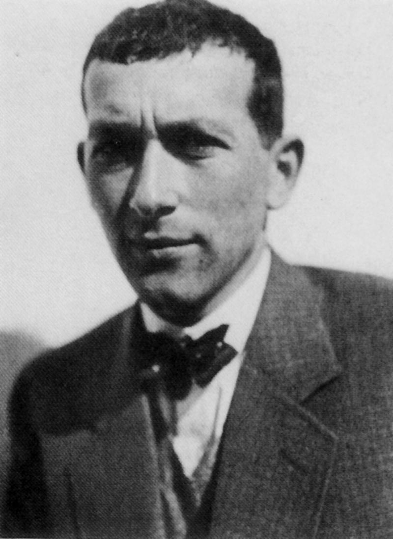 Porträt Marcel Breuer, Foto: Irene Bayer, um 1928.