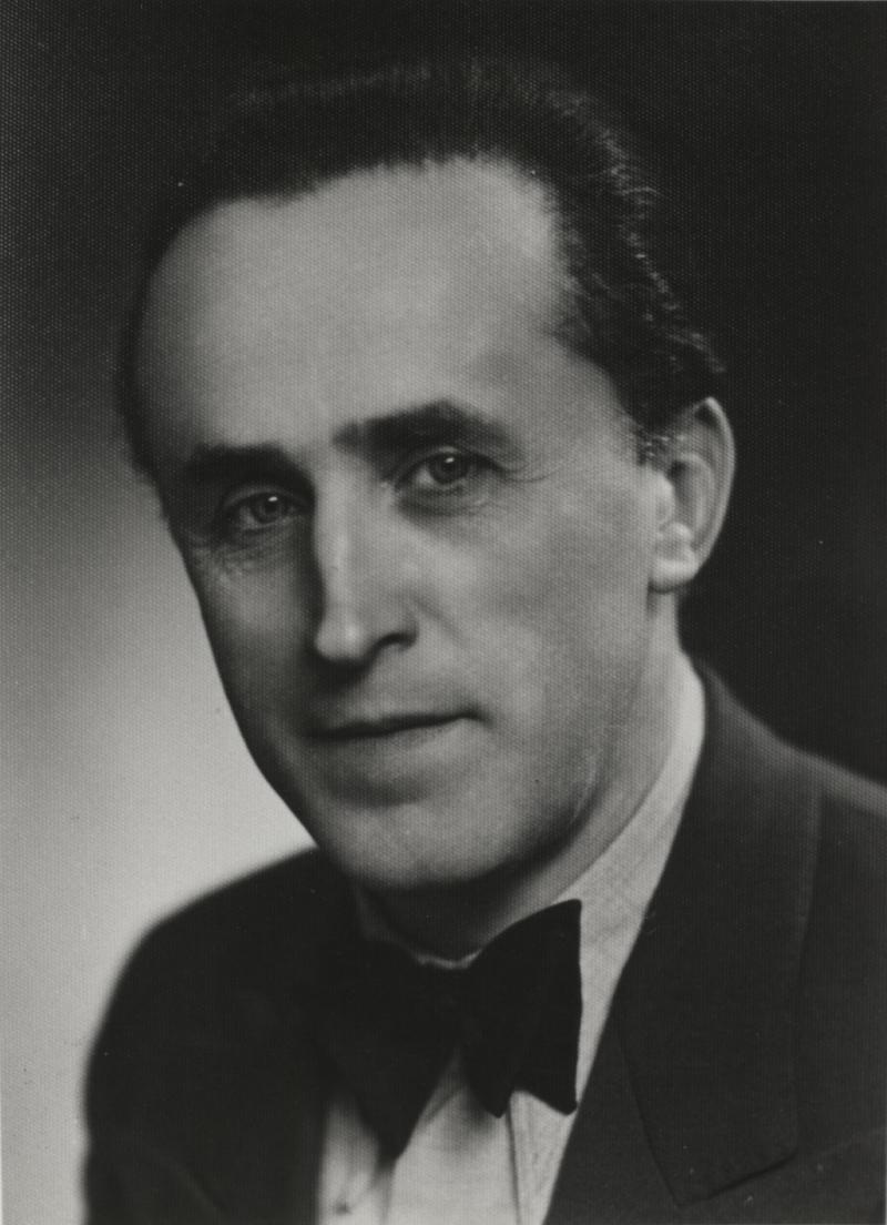 Porträt Friedrich Engemann, Foto: unbekannt, um 1930.