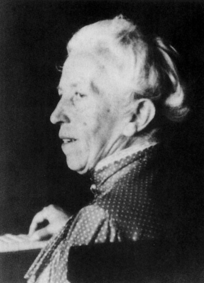 Gertrud Grunow, Photo: unknown, 1917.