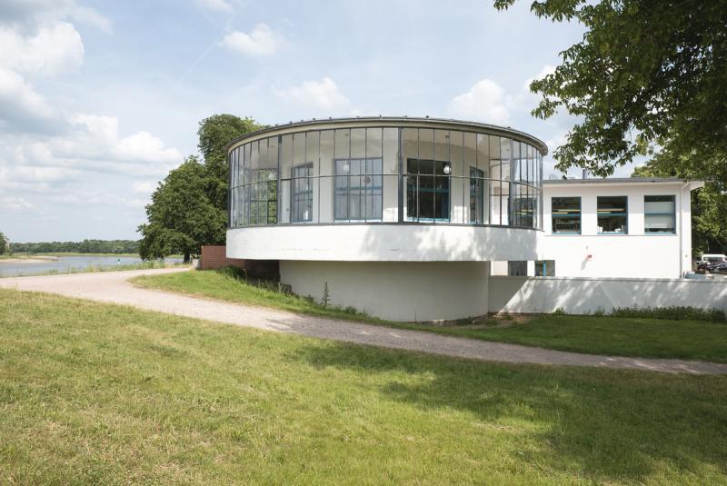 Restaurant Kornhaus, Dessau-Roßlau, Architecture: Carl Fieger, 1929–30.